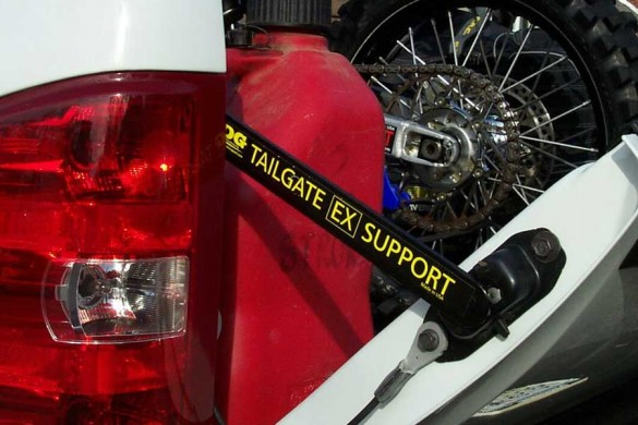 Tailgate supports
